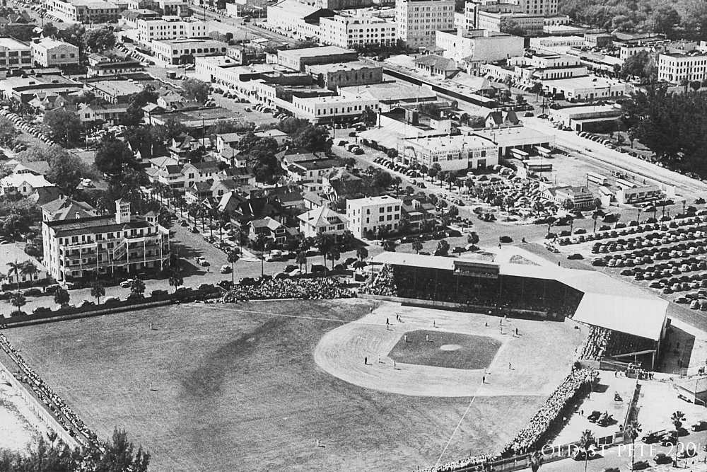 Baseball Field Old St. Pete